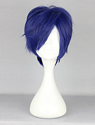 cheap -Cosplay Wigs Free! Rei Ryugazaki Anime Cosplay Wigs 35 CM Heat Resistant Fiber Men's
