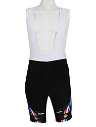 billige -Kooplus Herre Dame Cykelshorts (bib) Cykel Shorts Shorts med seler Trøje, Hurtigtørrende, Sommer, Polyester