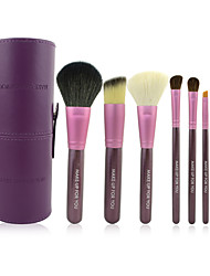 cheap -Make-up For You®7pcs Makeup Brushes set Horse/Pony/Goat Hair Portable/Limits Bacteria Purple Powder/Concealer/Blush brush Eyeshadow/Brow Brush
