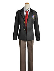 cheap -Inspired by Free! Rei Ryugazaki Anime Cosplay Costumes Cosplay Suits / School Uniforms Solid Colored Long Sleeve Coat / Shirt / Pants For