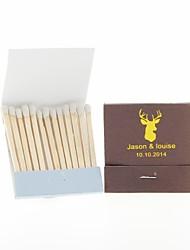 cheap -Wedding Décor Personalized Matchbooks Deer Head-Set of 12 (More Colors)