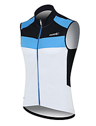 SANTIC Camisa para Ciclismo Homens Sem Manga Moto Colete Camisa/Roupas Para Esporte Blusas Secagem Rápida A Prova de Vento Vestível