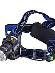 tanie Reflektory-Latarki LED / Czołówki / Przednia lampka rowerowa LED 1000 lm 3 tryb oświetlenia Kemping / turystyka / eksploracja jaskiń / Do użytku codziennego / Kolarstwo / Rower