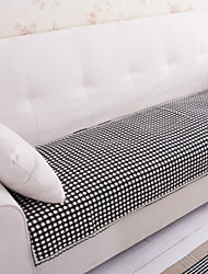 cheap -Cotton Black and White Lace Sofa Cushion 70*150