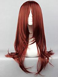 povoljno -Cosplay Wigs Naruto Karin Anime Cosplay Wigs 65 CM Otporna na toplinu vlakna Žene