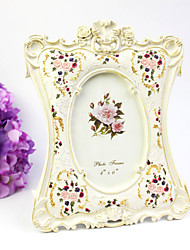 cheap -Floral Theme Resin Photo Frames
