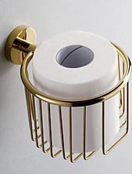 Porta rotolo di carta igienica / Ti-PVD Contemporaneo