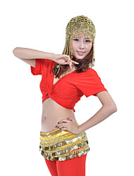 Dance Accessories Headpieces Women's Training Polystyrene Beading Coins