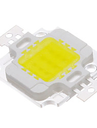 10W COB 820-900LM 6000-6500K Cool White LED Chip (9-12V)