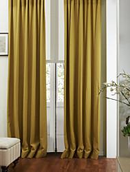 baratos -dois painéis de cortina moderna amigável eco sólido