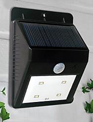cheap -4-LED White Light Solar Powered PIR Sensor Outdoor Light (CIS-57164)