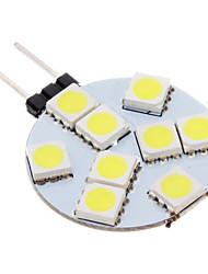 G4 Faretti LED 9 leds SMD 5050 Luce fredda 100-150lm 5500-6500K AC 12V