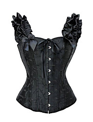cheap -Corset Gothic Lolita Dress Black Lolita Accessories Polyester