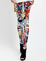 Women Print Legging,Others