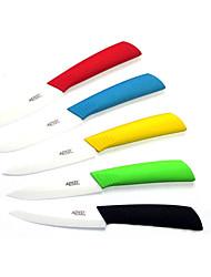 Недорогие -4-дюймовый керамический нож фруктовый овощной нож с защитным кожухом