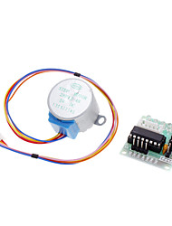 cheap -DC 5V 4-Phase 5-Wire Step Motor + Driver Board Test Module for (For Arduino)