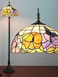 cheap -Tiffany Floor Lamp Resin Wall Light 110-120V / 220-240V Max 40W