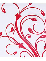 Personnalisés Floral Rouge Papier Pétale Cônes - Ensemble de 12