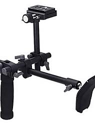DSLR Video Camcorder Handvat Schouder Ondersteuning Stabilizer Rig Quick Release Plate
