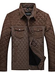 Недорогие -мужские шерстяные пиджаки хлопка фьюжн