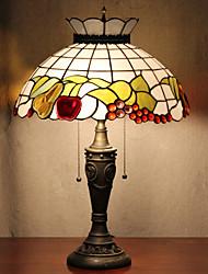 Недорогие -Корона Дизайн настольные лампы, свет 2, Тиффани Смола Стекло картины