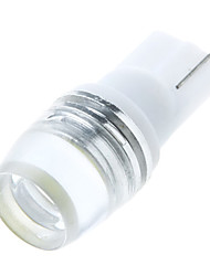 cheap -T10 W5W 168 194 W5W 1W Lens LED Light Side Wedge Lamp Bulb White
