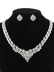 cheap -Women's Others Jewelry Set Earrings / Necklace - Regular Clear For Wedding / Party / Special Occasion