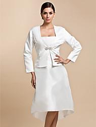 economico -Raso Matrimonio Da sera Casual Wraps Wedding Cappotti / giacche