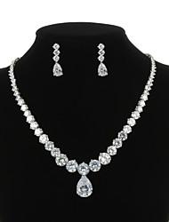 abordables -Femme Zircon Ensemble de bijoux - Autres Clair