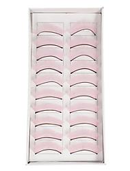 10Pcs Накладные ресницы (розовый)