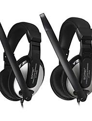 DANYIN DT-2699 Stereo Over-Ear avec micro et télécommande pour PC / iPhone / iPad / Samsung / iPod