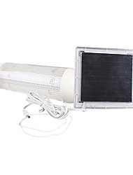 billige -5 LED Indendørs Udendørs Solar Powered Panel Have Switch lampe Shed Yard Light (CIS-57226)