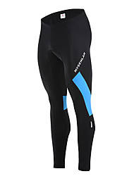 cheap -Mysenlan Men's Cycling Tights - White Black Red Green Blue Bike Thermal / Warm, Fleece Lining