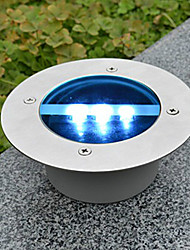 cheap -1PCS Outdoor Solar LED In Ground Lights Brick Lamps Garden Path Dock Landscape