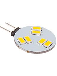 G4 LED Spot Lampen 6 Leds SMD 5630 260lm Warmes Weiß 2500-3500 DC 12