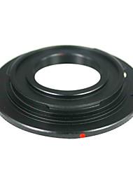 nero c-mount lenti cine film a canone obiettivo della fotocamera obiettivo CCTV anello adattatore EOS m