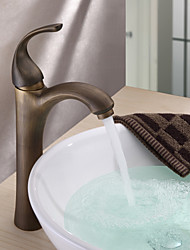 Antico Lavabo Valvola in ceramica Uno Una manopola Un foro for  Ottone antico , Lavandino rubinetto del bagno
