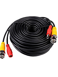 cheap -30 Meters (or 98 Feet) BNC Video and Power 12V DC Integrated Cable