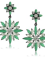 abordables -Mujer Cristal Hecho a mano Europeo Piedras preciosas sintéticas Joyas Para