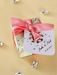 cheap -Personalized Favor Tags - Sparkling Hearts (set of 36) Wedding Favors