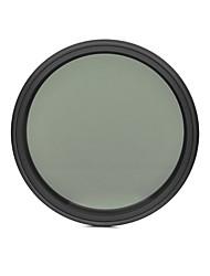 fotga® 72 milímetros que diminui magro nd filtro de densidade neutra ND2 variável ajustável para ND400