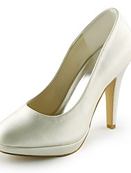 Mujer Zapatos Satén / Satén Elástico Primavera / Verano Tacón Stiletto Pajarita Azul / Oro / Morado / Boda / Fiesta y Noche Édition Limitée ba4HJyl