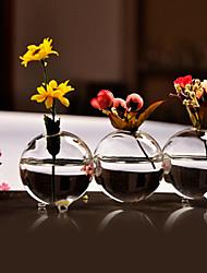 Недорогие -Связанные Бал стеклянной вазе