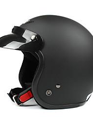 nero opaco-4 abs materiale del motociclo casco mezzo