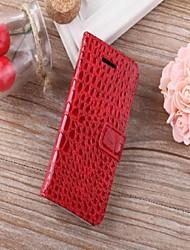 iphone 7 und Luxuskrokodilmustermappe Fall Brieftasche Ledertasche für iphone 6s 6 Plus se 5s 5c 5