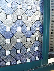 Geometric Classical Window Film,PVC/Vinyl Material Window Decoration