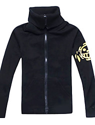 Inspired by One Piece Trafalgar Law Anime Cosplay Costumes Cosplay Hoodies Print Long Sleeve Coat For Male