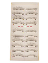 Hand-made Natural False Upper Eyelashes 219 Cosmetic Beauty Care Makeup for Face