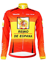cheap -Kooplus Men's Long Sleeves Cycling Jacket Bike Jersey, Thermal / Warm, Fleece Lining, Breathable