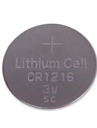 (5pcs) TTIANQIU CR1216 3V Lithium Botão Bateria de célula